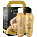 Tahe - Pack GOLD RADIANCE (Peeling Corporal 200 ml + Ouro Líquido Iluminador 200 ml)